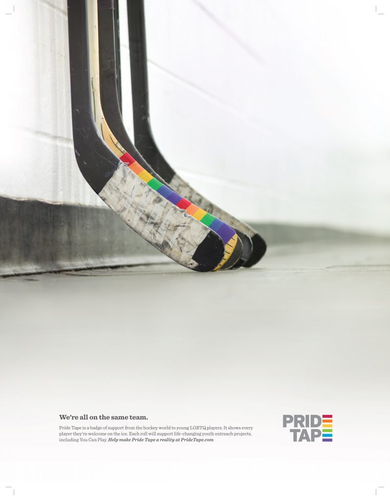 Pride Tape Launch Poster